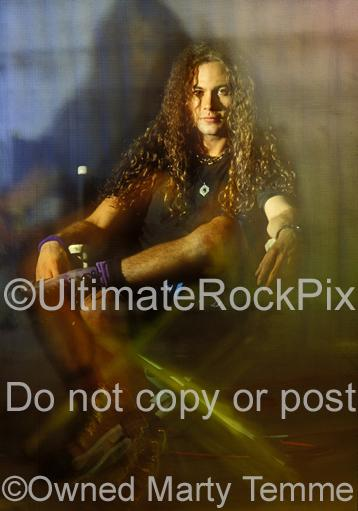 Art Prints of Mike Starr of Alice in Chains During a Photo Shoot in 1992 by Marty Temme