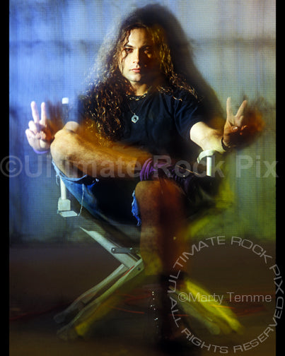 Art Print of Mike Starr of Alice in Chains during a photo shoot in 1992 by Marty Temme
