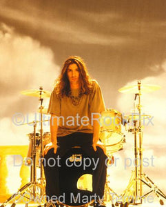 Photos of Drummer Sean Kinney of Alice In Chains During a Photo Shoot in 1995 by Marty Temme