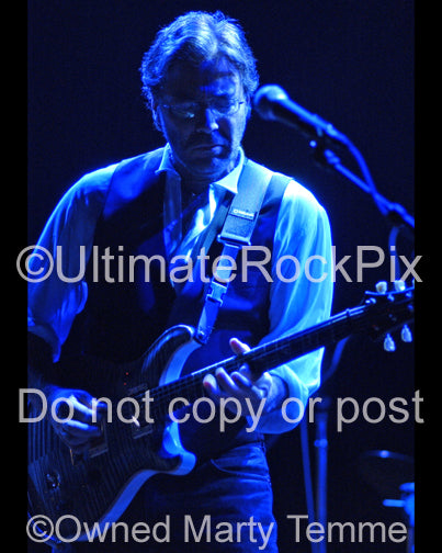 Photo of guitarist Al Di Meola in concert in 2006 by Marty Temme