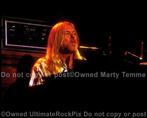 Photos of Musician Gregg Allman of The Allman Brothers in Concert in 1994 by Marty Temme