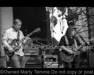 Black and White Photos of Warren Haynes and Derek Trucks of The Allman Brothers by Marty Temme