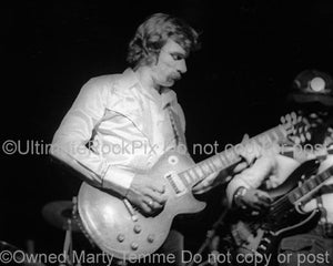 Photos of Dickey Betts of The Allman Brothers in 1973 by Marty Temme