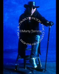 Photo of singer Stephen Pearcy of Ratt and Arcade in 1992 by Marty Temme