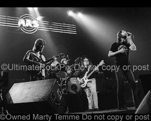 Photos of Ronnie Hammond, Barry Bailey, Paul Goddard and Robert Nix of Atlanta Rhythm Section onstage in 1978