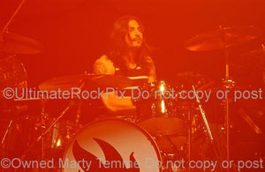 Photos of Drummer Brad Wilk in Concert by Marty Temme