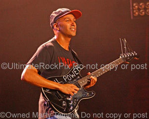 Photos of Tom Morello of Audioslave by Marty Temme