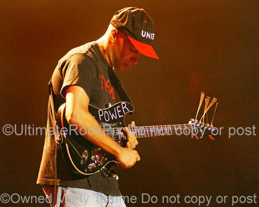 Photos of Tom Morello of Audioslave in Concert by Marty Temme