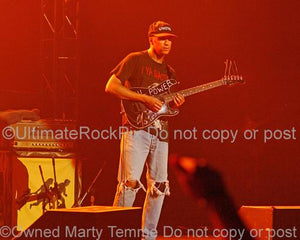 Photos of Guitar Player Tom Morello of Audioslave in Concert by Marty Temme