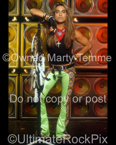 Photo of singer Marq Torien of BulletBoys during a photo shoot by Marty Temme