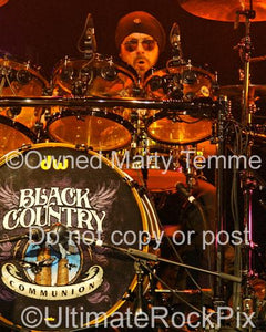 Photos of Drummer Jason Bonham in Concert of Band Black Country Communion in 2011 by Marty Temme