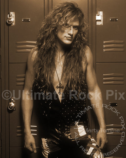 Art Print of Blas Elias of Slaughter during a photo shoot in 1990 by Marty Temme