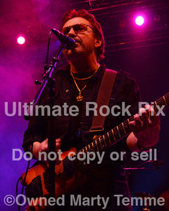 Photo of guitarist Buck Dharma of Blue Oyster Cult in concert in 2013 by Marty Temme