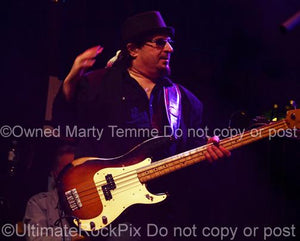 Photos of Bass Player Danny Miranda of Queen and Blue Oyster Cult in Concert by Marty Temme