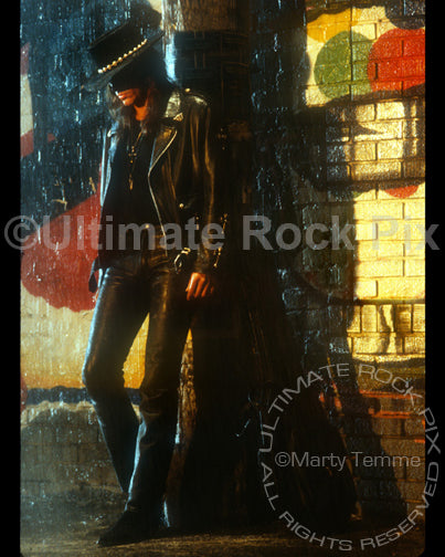 Art Print of guitarist Richie Sambora during a photo shoot in 1991 by Marty Temme