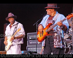 Photos of Buddy Guy and Billy Cox of Jimi Hendrix Performing Together in Concert by Marty Temme