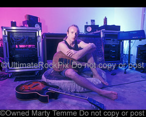 Photo of Phil Collen of Def Leppard during a photo shoot in 1994 by Marty Temme
