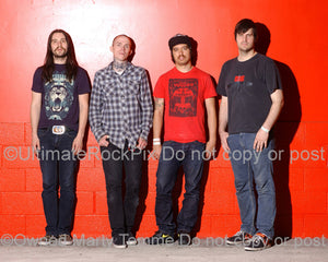 Photo of the band Converge during a photo shoot in 2008 - converge08523