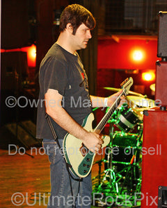 Photo of guitarist and producer Kurt Ballou of Converge onstage in 2008 by Marty Temme