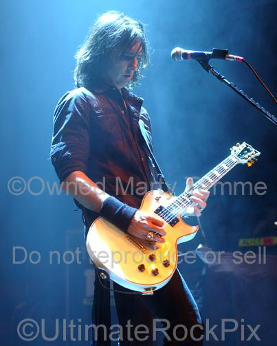 Photos of Guitar Player Damon Johnson of Alice Cooper and Thin Lizzy in Concert by Marty Temme