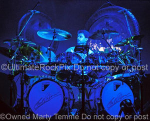 Photos of Drummer Carl Palmer of Emerson, Lake & Palmer and Asia in Concert in 1992 by Marty Temme