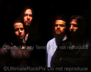 Photos of Glenn Danzig, Eerie Von, Joey Castillo and John Christ of Danzig During a Photo Shoot in 1995 in San Diego, California by Marty Temme
