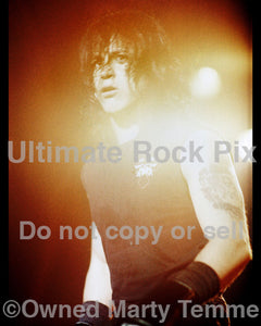 Art Print of Glenn Danzig of Danzig performing in concert in 1989 by Marty Temme