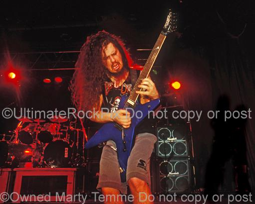 Limited Edition Prints of Diamond Darrell Abbott of Pantera in 1994 Numbered and Signed by Marty Temme