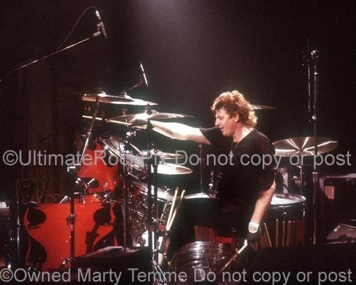 Photos of Drummer Mick Brown of Lynch Mob in Concert by Marty Temme