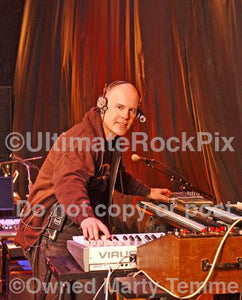 Photos of Musician Thomas Dolby Playing Keyboards in 2006 by Marty Temme