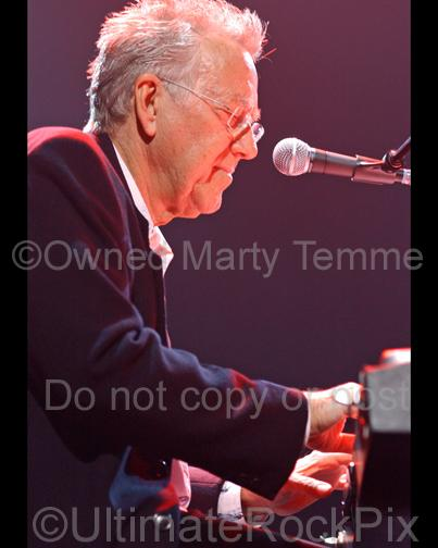 Photos of Keyboard Player Ray Manzarek Performing Onstage in 2009 by Marty Temme