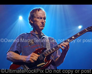 Photos of Robby Krieger of The Doors Playing a Gibson SG by Marty Temme