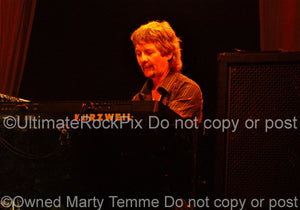 Photo of keyboardist Don Airey of Deep Purple and Rainbow in concert by Marty Temme