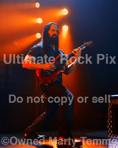 Photo of John Petrucci of Dream Theater in 2014 by Marty Temme
