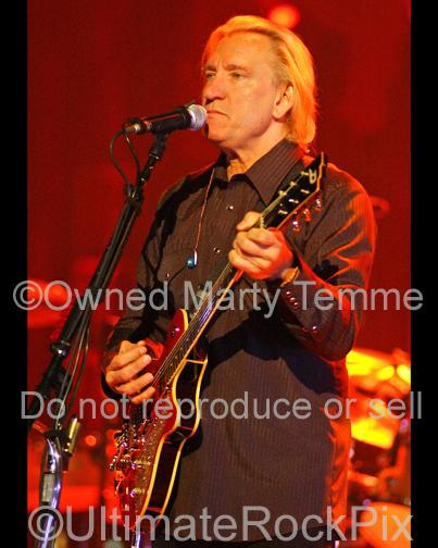 Photos of Guitar Player Joe Walsh of The Eagles in Concert in 2008 by Marty Temme