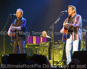 Photos of Glenn Frey and Don Henley of The Eagles Performing in Concert in 2008 by Marty Temme
