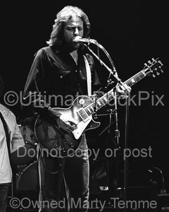 Photos of Don Felder of The Eagles Performing in Concert in 1980 by Marty Temme