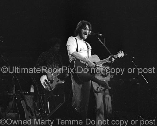 Photos of Singer-Songwriter and Guitarist J. D. Souther in Concert in 1976 by Marty Temme