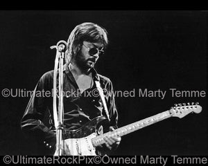 "11"" x 14"" Limited Edition Print of Eric Clapton in 1974 by Marty Temme"