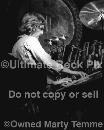 Photos of Keyboardist Keith Emerson of Emerson, Lake & Palmer in Concert in 1977 by Marty Temme