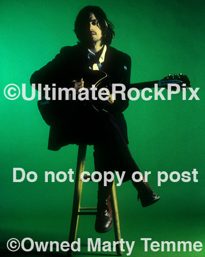Photo of musician Greg Edwards of Failure during a photo shoot in 1996 by Marty Temme