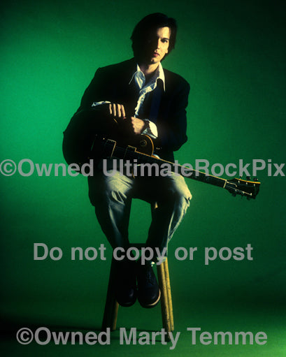 Photo of musician Ken Andrews of Failure during a photo shoot in 1996 by Marty Temme