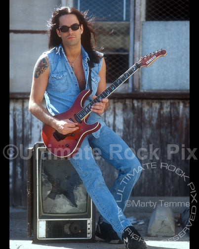 Photo of Bill Leverty of Firehouse during a photo shoot in 1994