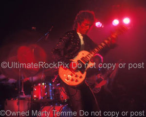 Photos of Guitarist Bob Weston of Fleetwood Mac 1973 by Marty Temme