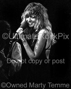 Photos of Stevie Nicks of Fleetwood Mac Onstage in 1977 by Marty Temme