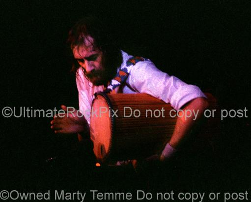 Photos of Mick Fleetwood of Fleetwood Mac in Concert in 1977 by Marty Temme