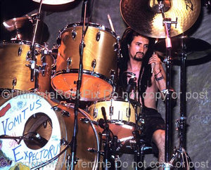 Photos of Drummer Mike Bordin of Faith No More and Ozzy Osbourne in Concert by Marty Temme