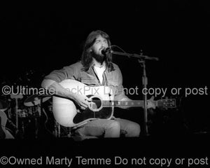 Photos of Singer-Songwriter Dan Fogelberg in 1976 by Marty Temme