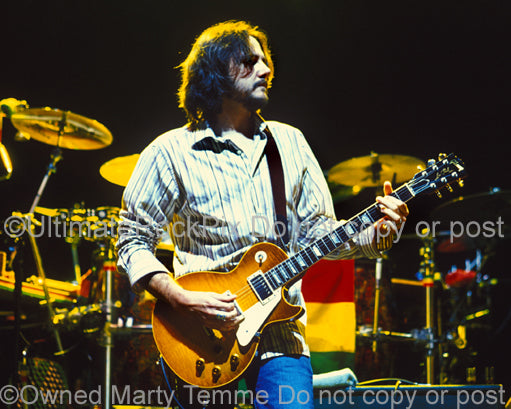 Photo of Marc Ford of Ben Harper and The Black Crowes in concert