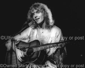 Photos of Guitarist Peter Frampton in Concert in 1976 by Marty Temme